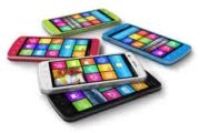 Smartphones colorati