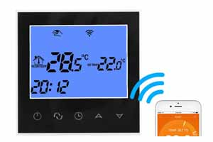 cronotermostato wifi smart