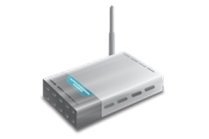 Modem router wifi