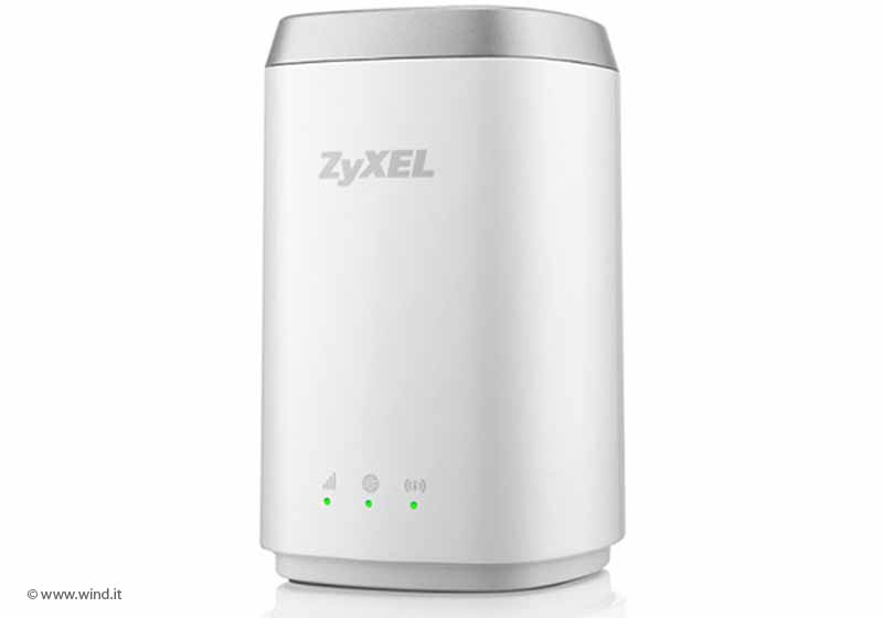 Router wifi mobile 4G Zyxel  Wind